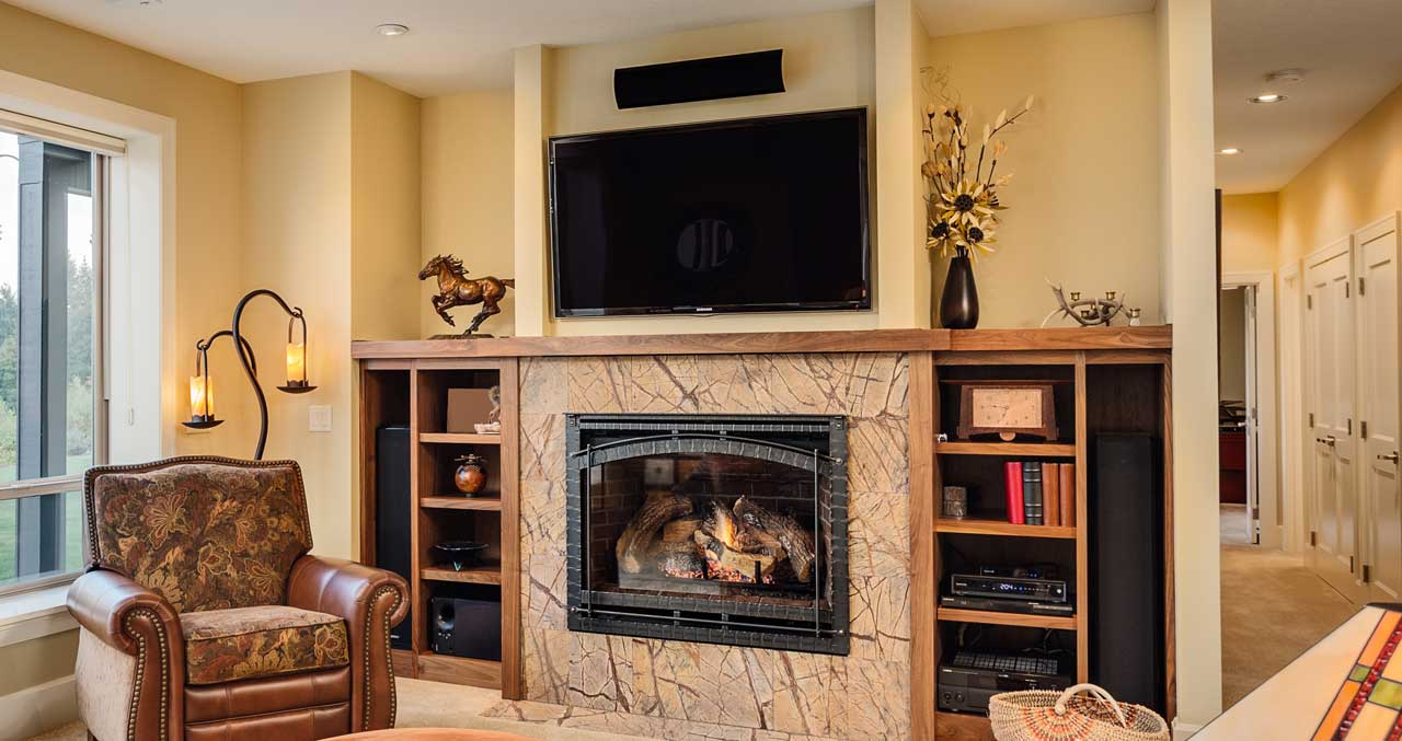 Advanced Over Fireplace