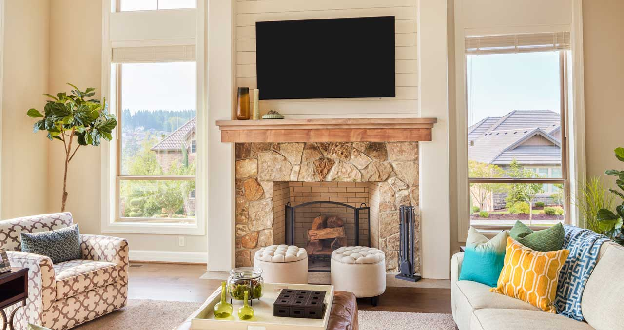 Over Fireplace TV Mounting